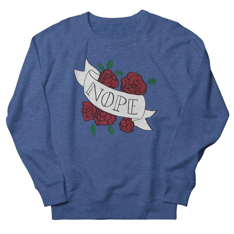 Nope Men's Sweatshirt by Hello Siyi