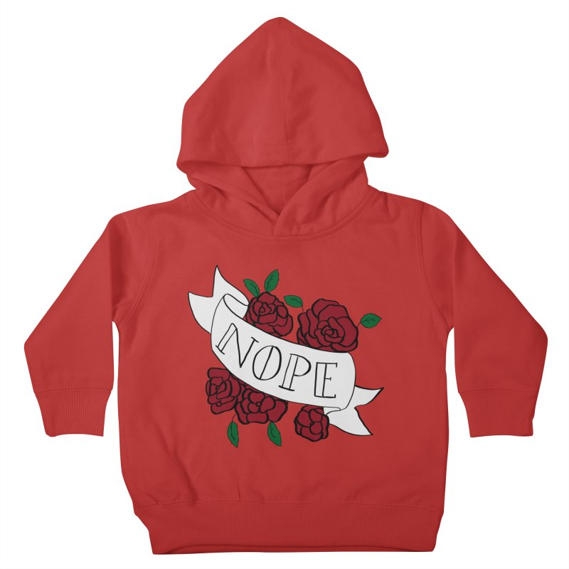 Nope Kids Toddler Pullover Hoody by Hello Siyi