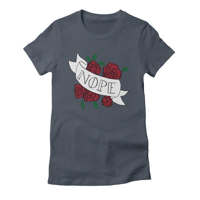 Nope Women's T-Shirt by Hello Siyi