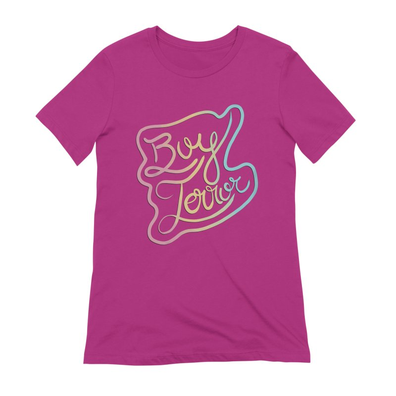 Boy Terror Women's Extra Soft T-Shirt by Hello Siyi