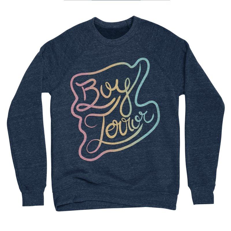 Boy Terror Women's Sponge Fleece Sweatshirt by Hello Siyi