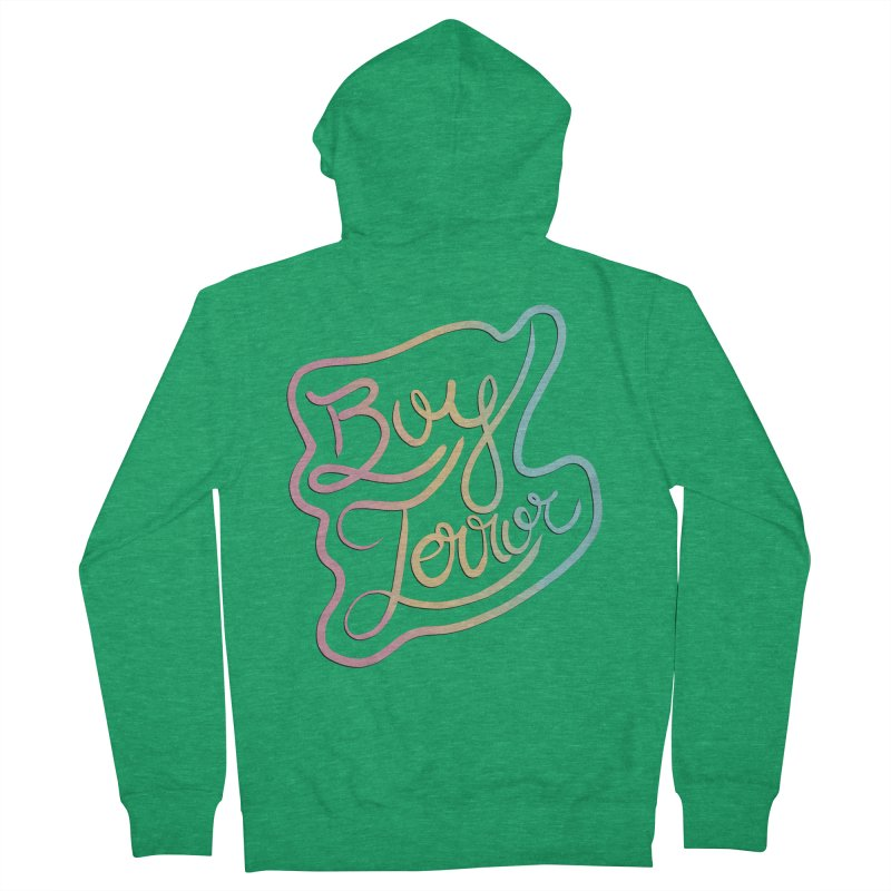 Boy Terror Women's French Terry Zip-Up Hoody by Hello Siyi