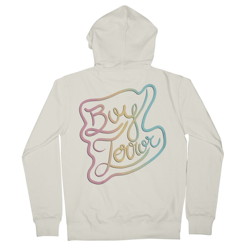 Boy Terror Men's French Terry Zip-Up Hoody by Hello Siyi