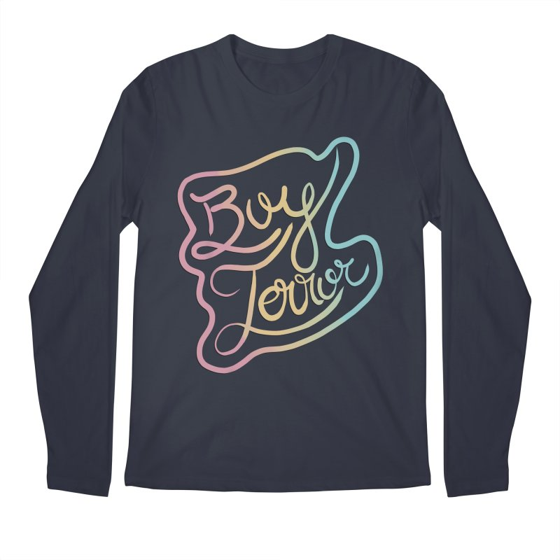 Boy Terror Men's Regular Longsleeve T-Shirt by Hello Siyi