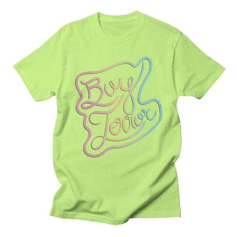 Boy Terror Women's Regular Unisex T-Shirt by Hello Siyi