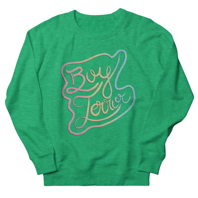 Boy Terror Women's French Terry Sweatshirt by Hello Siyi