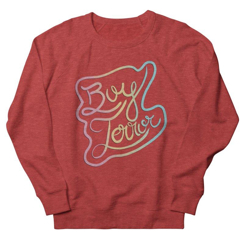 Boy Terror Women's French Terry Sweatshirt by Hello Siyi
