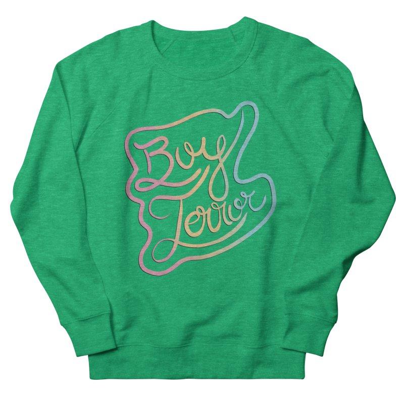 Boy Terror Men's French Terry Sweatshirt by Hello Siyi