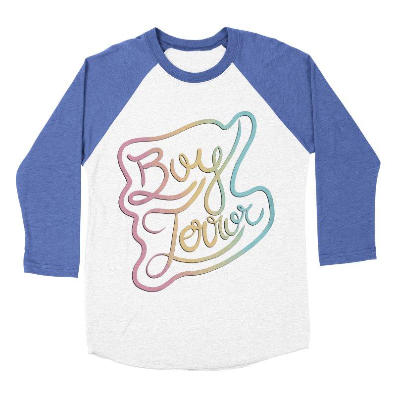 Boy Terror Women's Baseball Triblend Longsleeve T-Shirt by Hello Siyi