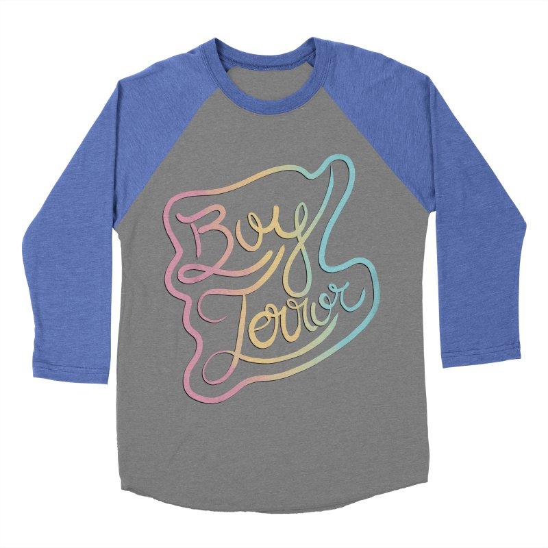 Boy Terror Men's Baseball Triblend Longsleeve T-Shirt by Hello Siyi