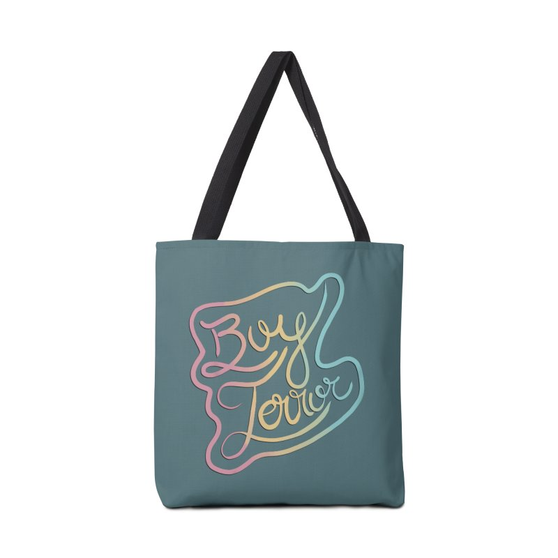 Boy Terror Accessories Tote Bag Bag by Hello Siyi