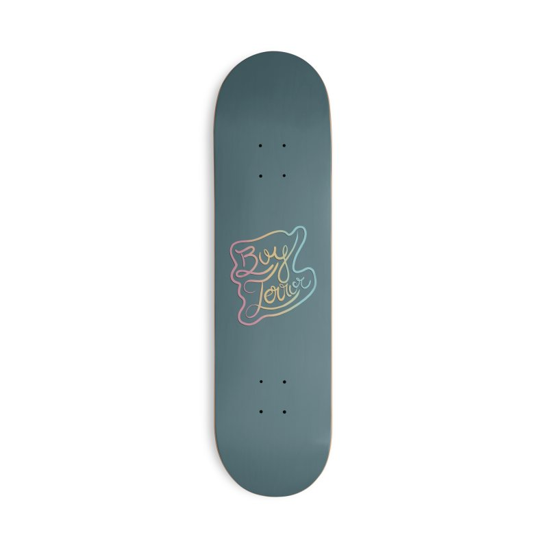 Boy Terror Accessories Deck Only Skateboard by Hello Siyi