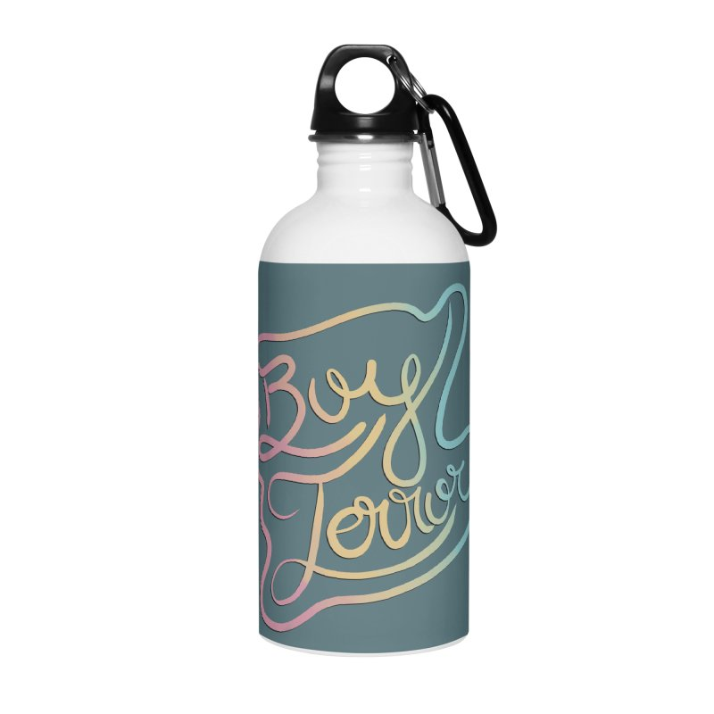 Boy Terror Accessories Water Bottle by Hello Siyi