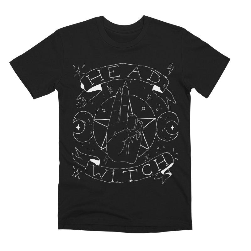 Head Witch (white) Men's Premium T-Shirt by Hello Siyi