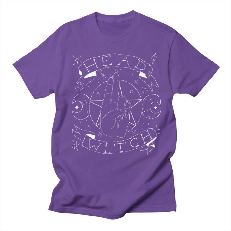Head Witch (white) Women's Regular Unisex T-Shirt by Hello Siyi