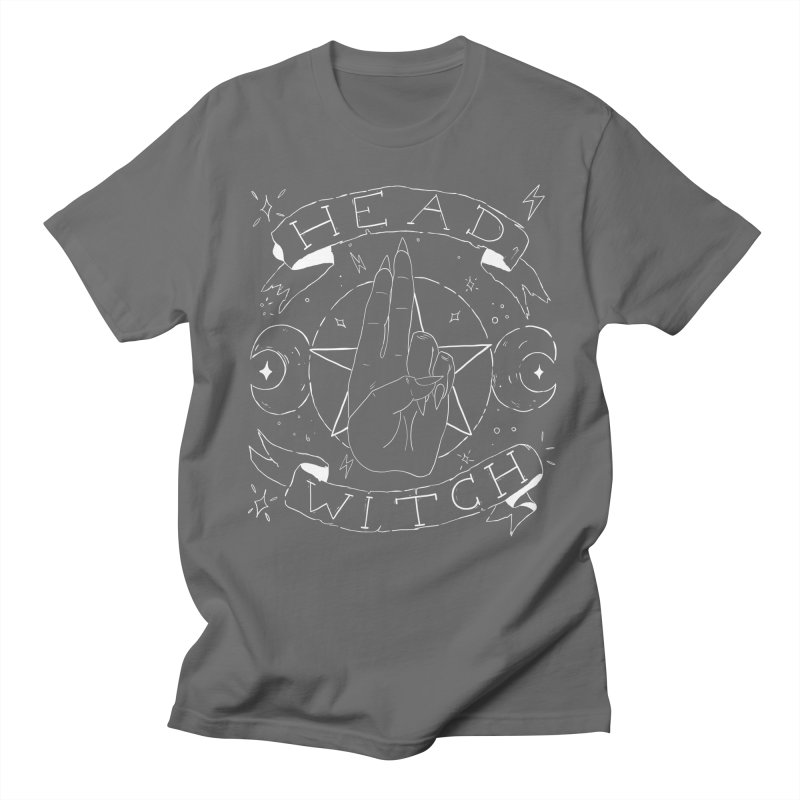 Head Witch (white) Men's T-Shirt by Hello Siyi