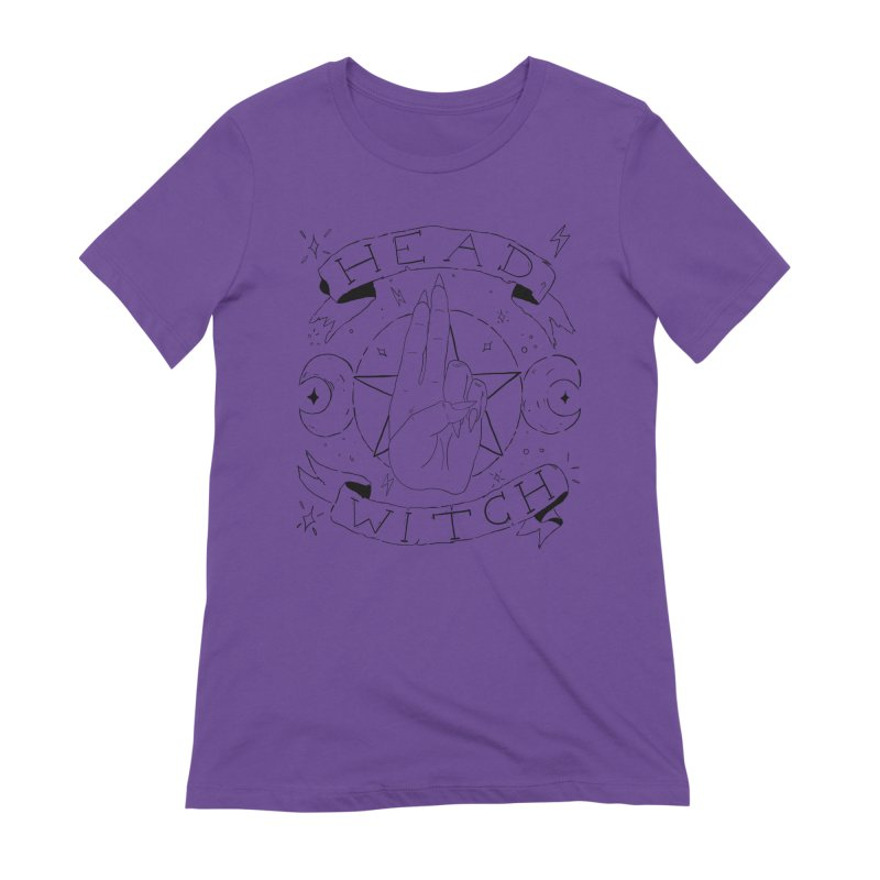 Head Witch Women's Extra Soft T-Shirt by Hello Siyi