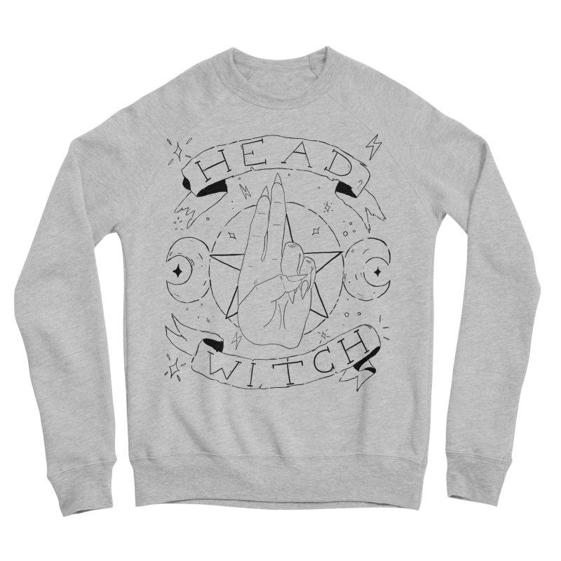 Head Witch Women's Sponge Fleece Sweatshirt by Hello Siyi