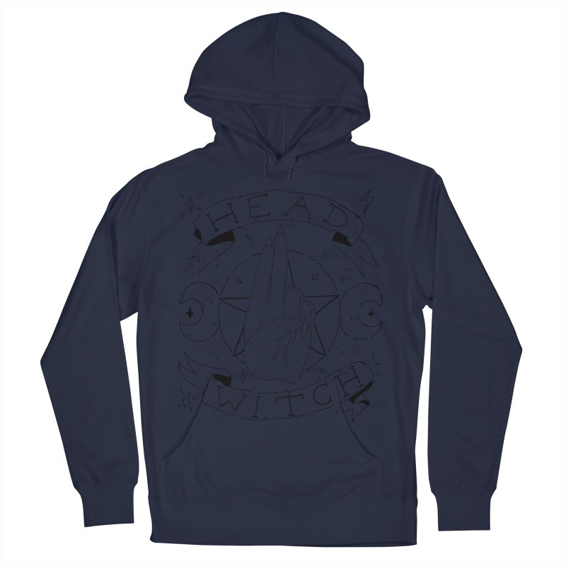 Head Witch Men's Pullover Hoody by Hello Siyi