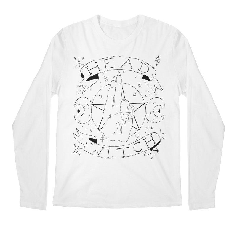 Head Witch Men's Regular Longsleeve T-Shirt by Hello Siyi