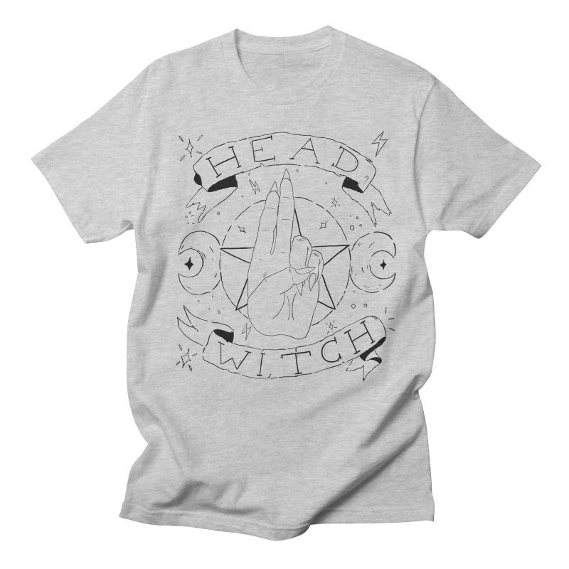 Head Witch Women's Regular Unisex T-Shirt by Hello Siyi