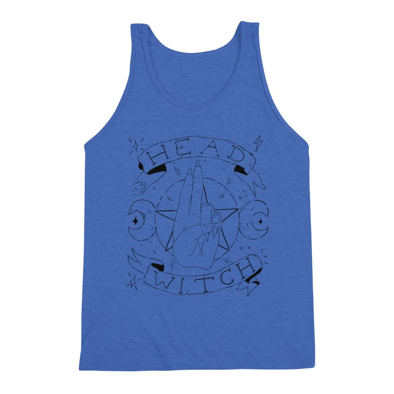 Head Witch Men's Triblend Tank by Hello Siyi