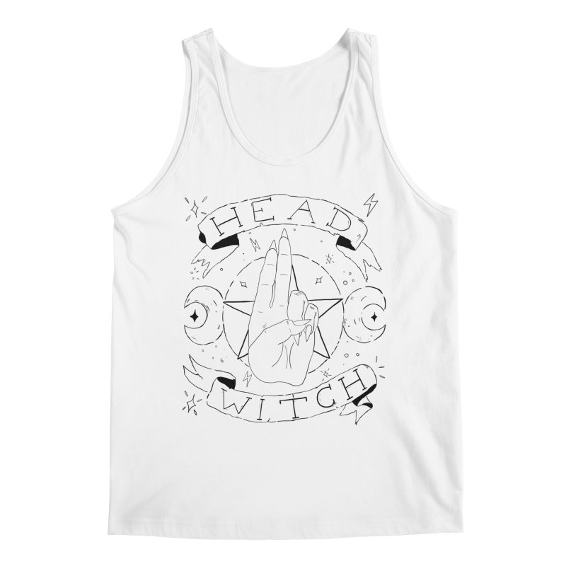 Head Witch Men's Regular Tank by Hello Siyi