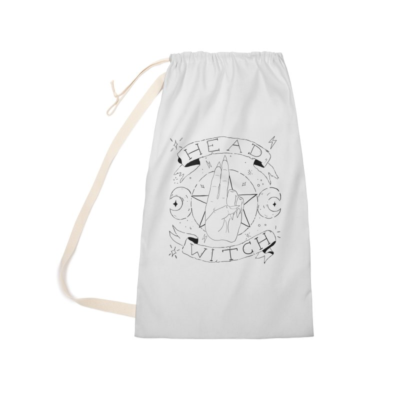 Head Witch Accessories Laundry Bag Bag by Hello Siyi