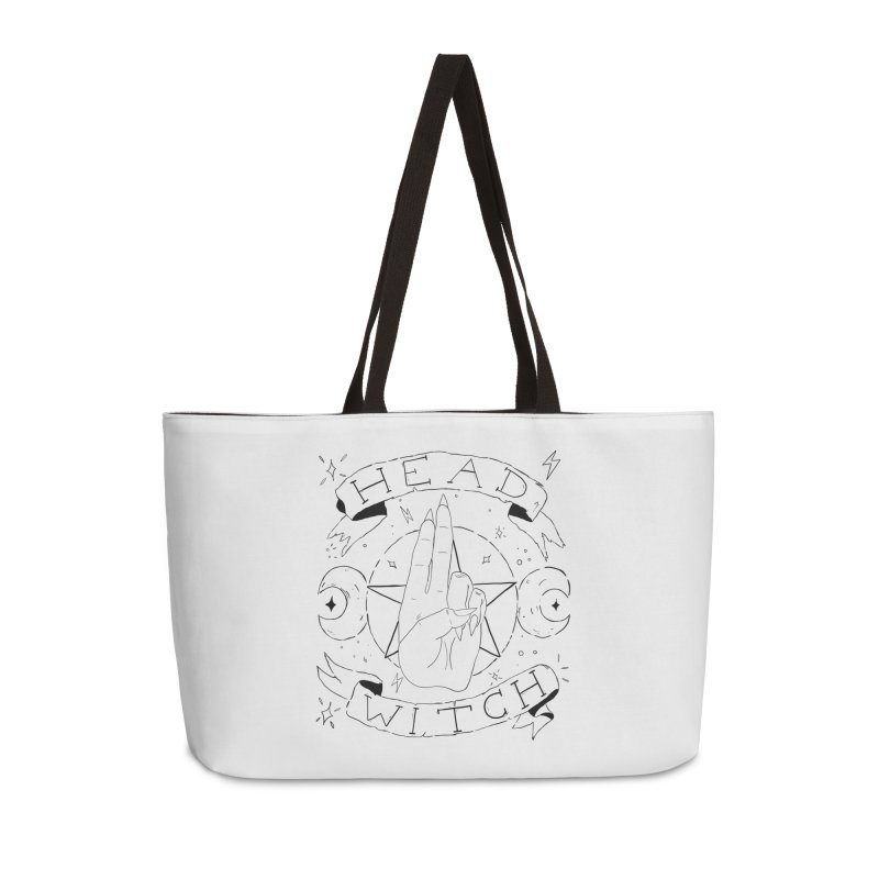 Head Witch Accessories Weekender Bag Bag by Hello Siyi