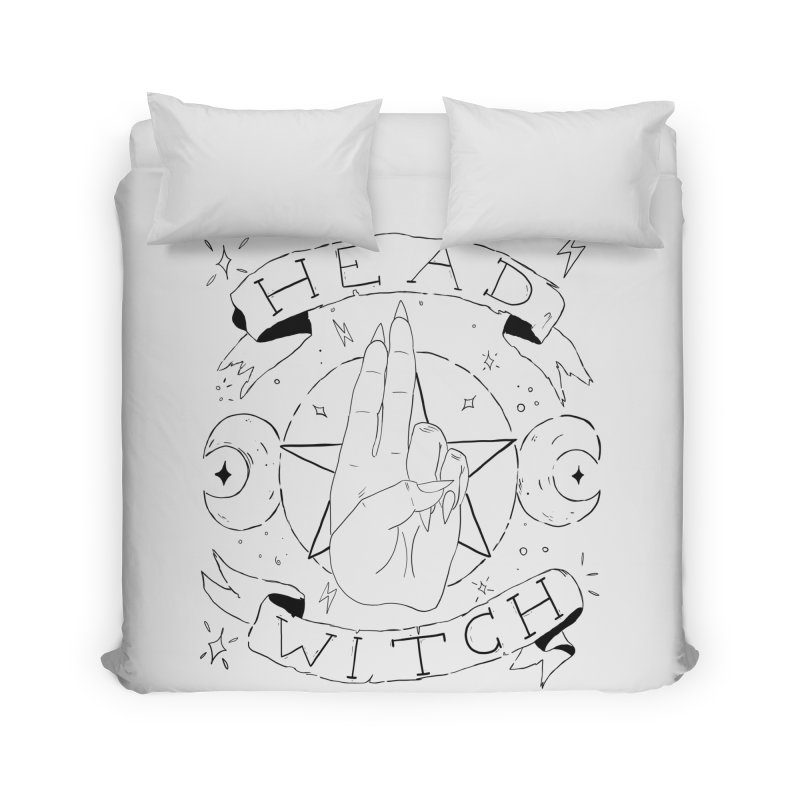 Head Witch Home Duvet by Hello Siyi