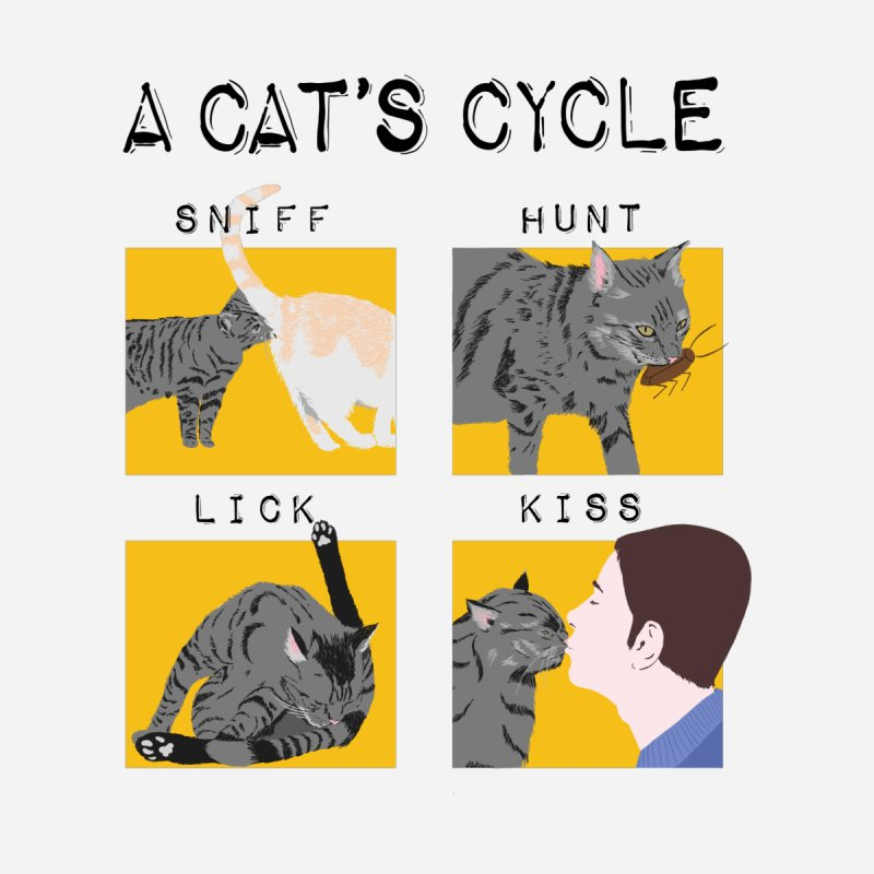 A cat's cycle by Hello Siyi