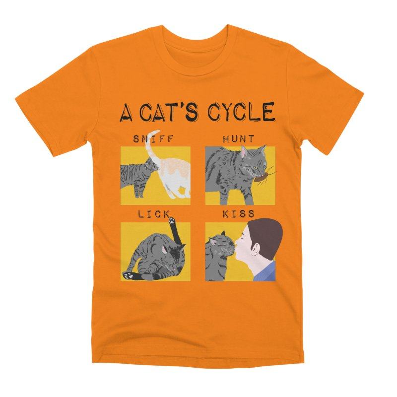 A cat's cycle Men's Premium T-Shirt by Hello Siyi