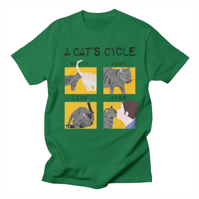 A cat's cycle Women's Regular Unisex T-Shirt by Hello Siyi