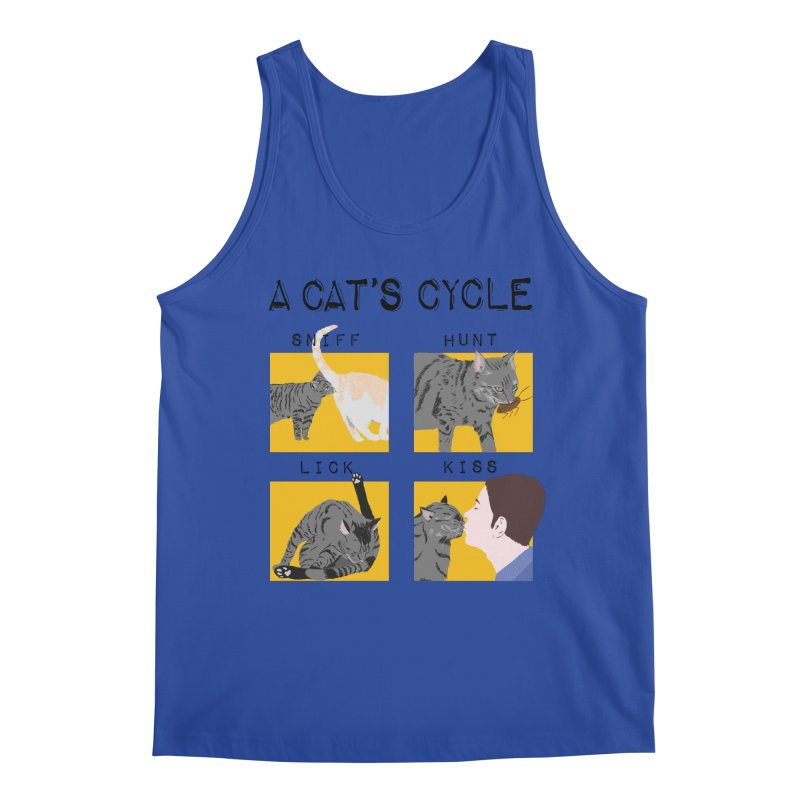 A cat's cycle Men's Regular Tank by Hello Siyi