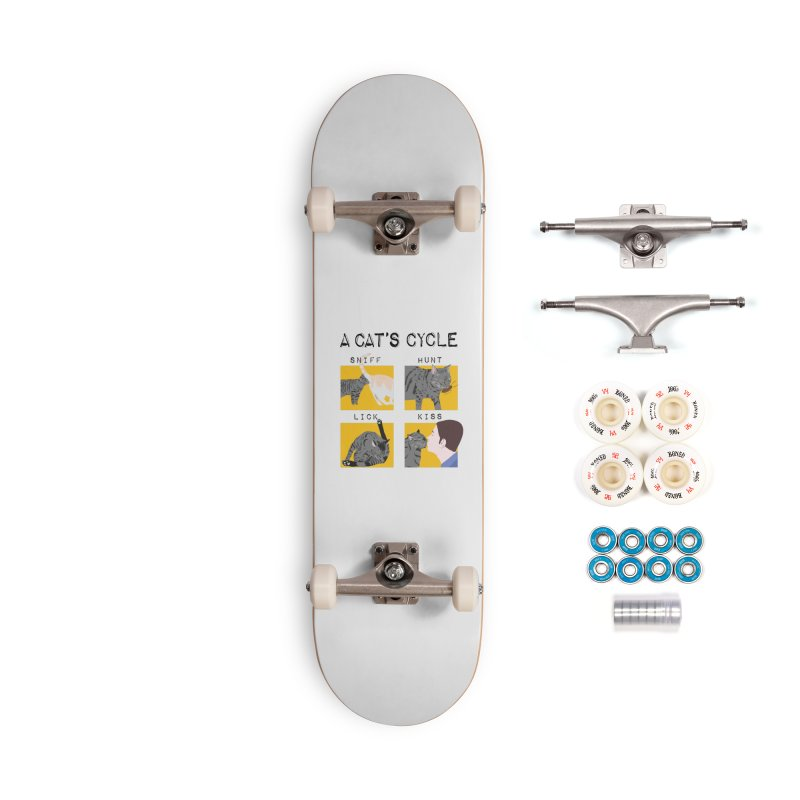 A cat's cycle Accessories Complete - Premium Skateboard by Hello Siyi