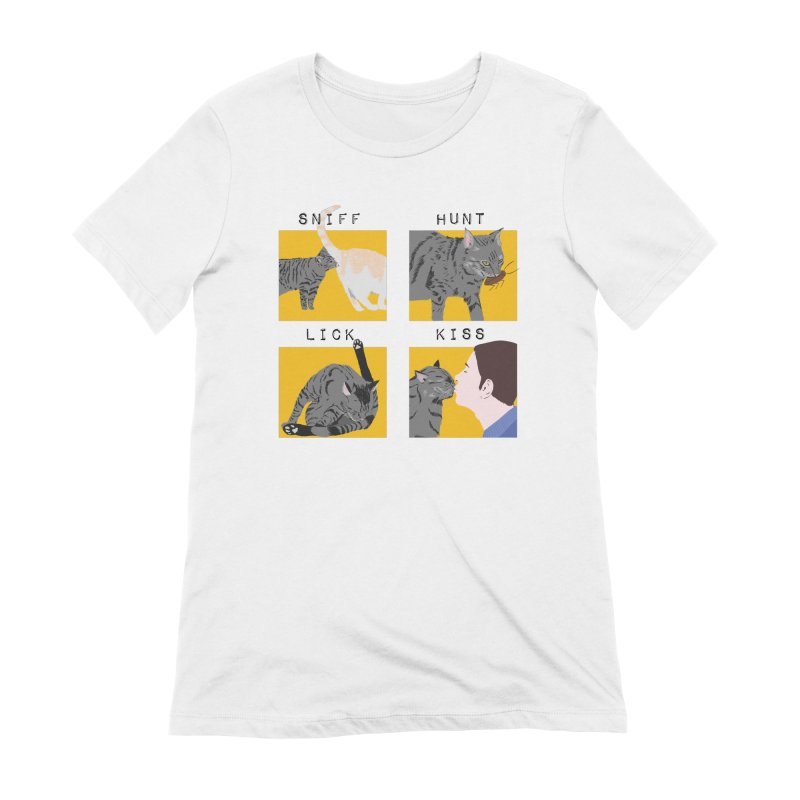 A cat's cycle (version 2) Women's Extra Soft T-Shirt by Hello Siyi
