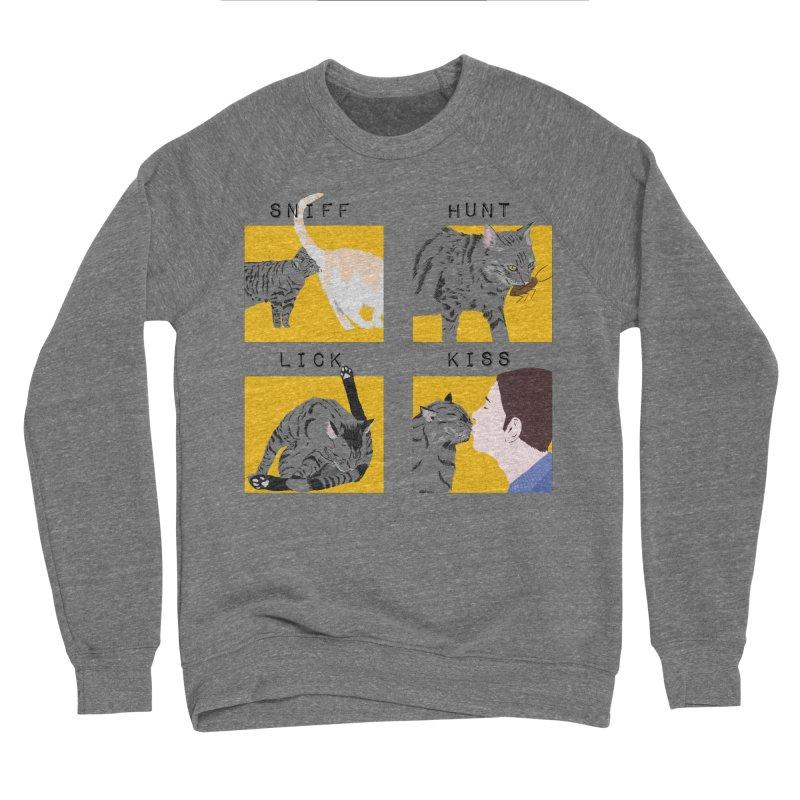 A cat's cycle (version 2) Men's Sponge Fleece Sweatshirt by Hello Siyi