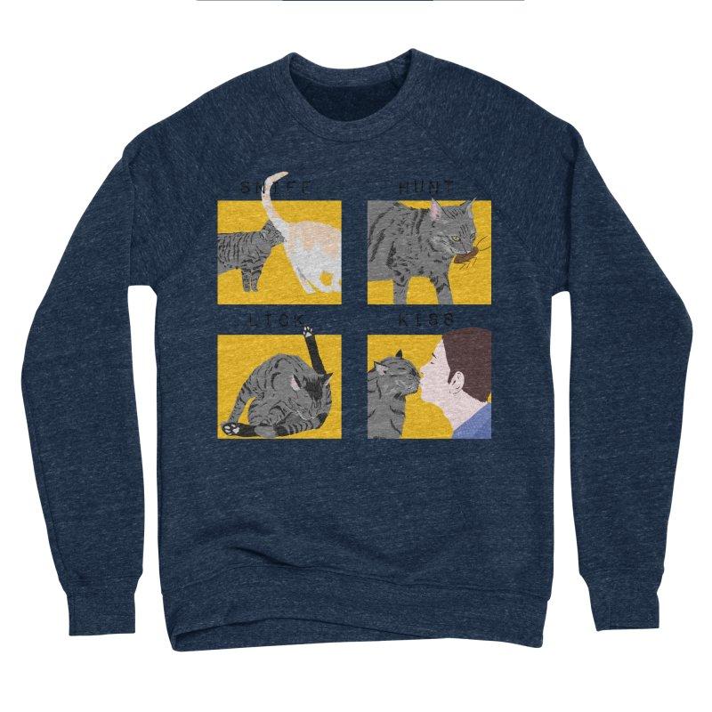 A cat's cycle (version 2) Women's Sponge Fleece Sweatshirt by Hello Siyi