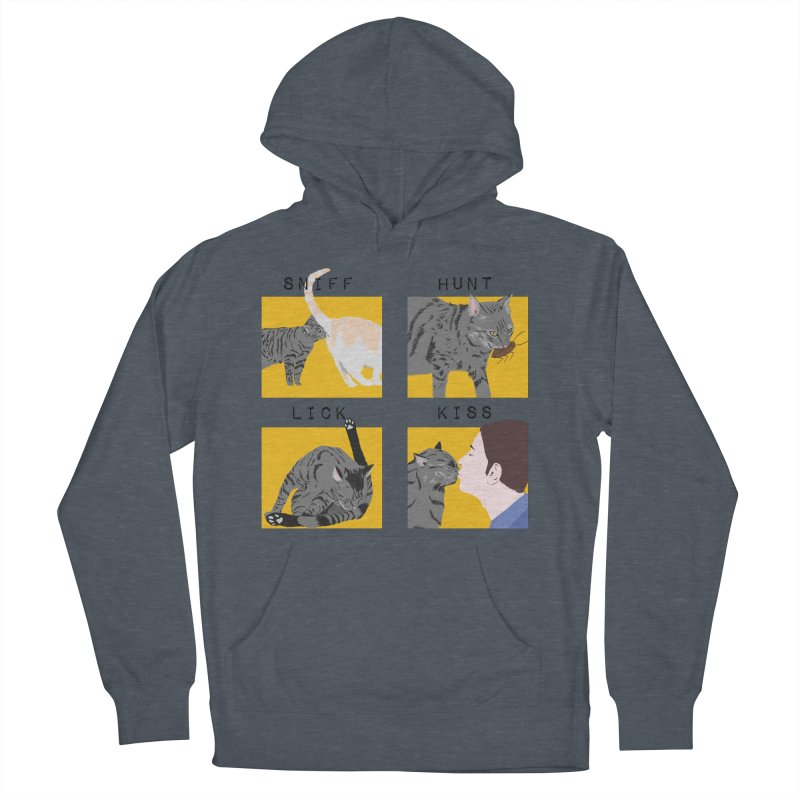 A cat's cycle (version 2) Women's French Terry Pullover Hoody by Hello Siyi