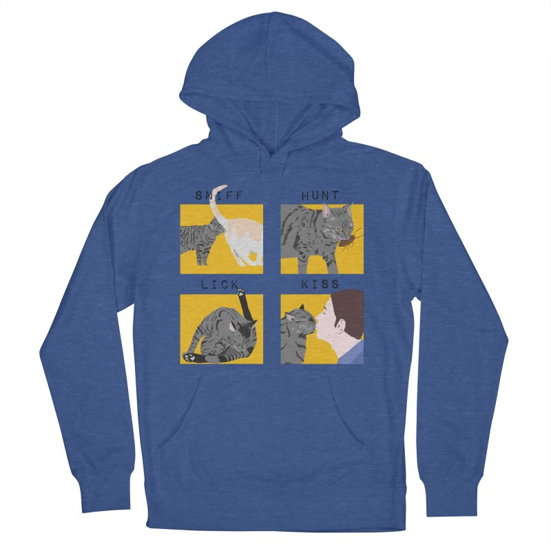A cat's cycle (version 2) Men's French Terry Pullover Hoody by Hello Siyi