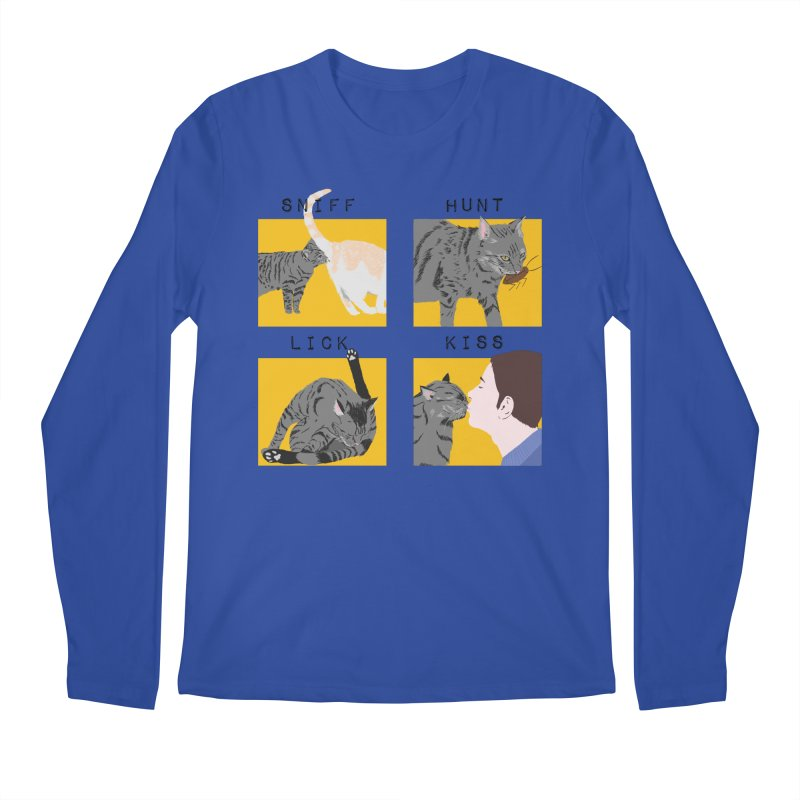 A cat's cycle (version 2) Men's Regular Longsleeve T-Shirt by Hello Siyi