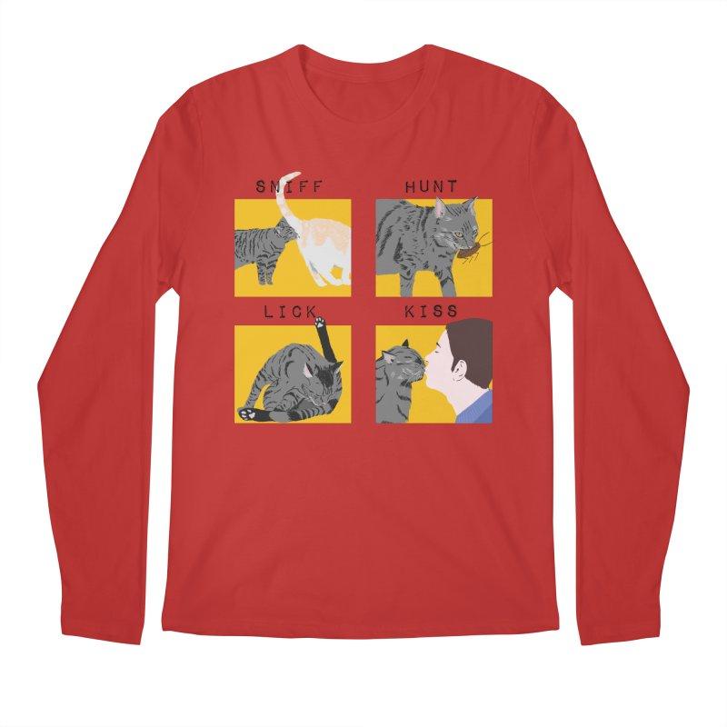 A cat's cycle (version 2) Men's Regular Longsleeve T-Shirt by Hello Siyi