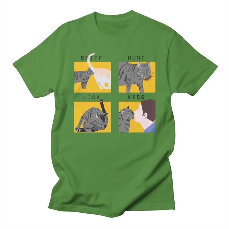 A cat's cycle (version 2) Men's Regular T-Shirt by Hello Siyi