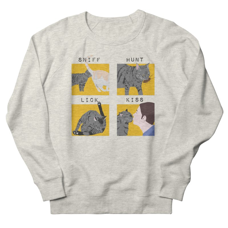 A cat's cycle (version 2) Men's French Terry Sweatshirt by Hello Siyi