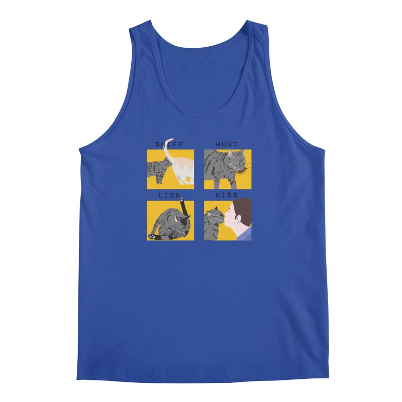 A cat's cycle (version 2) Men's Regular Tank by Hello Siyi