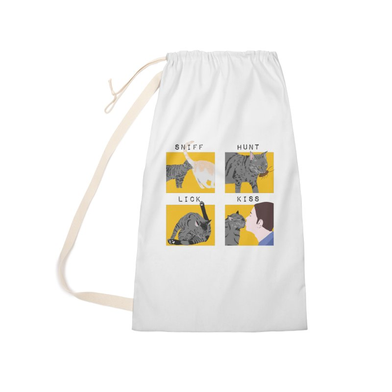 A cat's cycle (version 2) Accessories Laundry Bag Bag by Hello Siyi