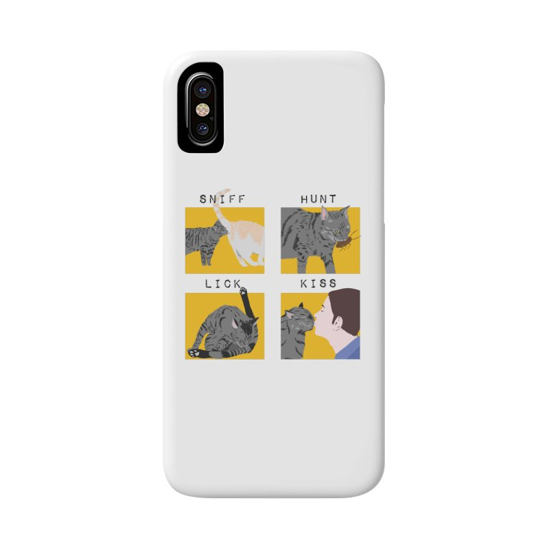 A cat's cycle (version 2) Accessories Phone Case by Hello Siyi