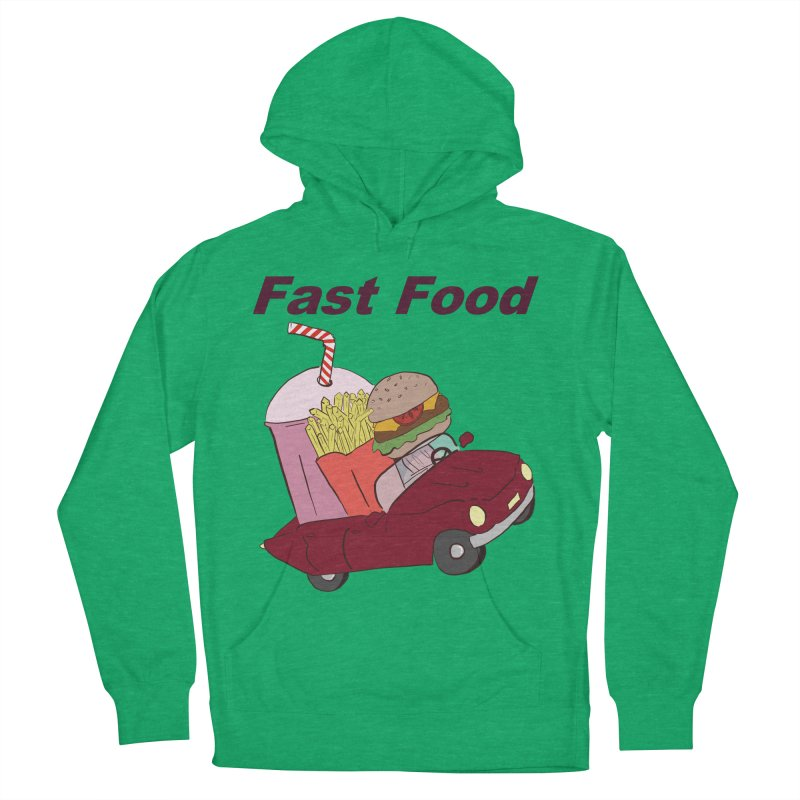 Fast Food Men's French Terry Pullover Hoody by Hello Siyi