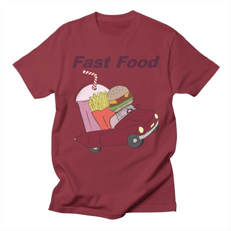 Fast Food Women's Regular Unisex T-Shirt by Hello Siyi