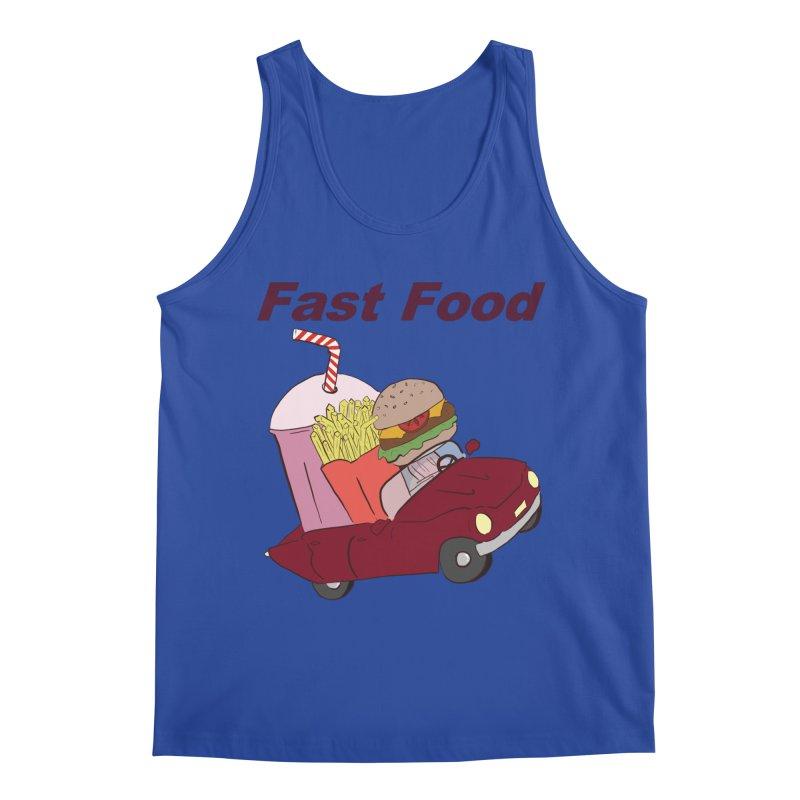 Fast Food Men's Regular Tank by Hello Siyi
